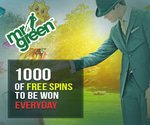 Mr Green Casino REEL Free Spin Fossils Promotion