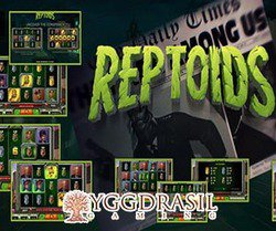 The Aliens Have Landed In New Reptoids Slot From Yggdrasil