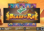 New Blaze of Ra slot from Push Gaming is now at Mr Green Casino