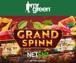 NetEnt's New Grand Spinn Slot Mr Green