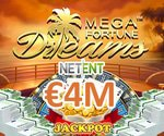 NetEnt Mega Fortune Dreams Pays €4 Million