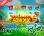 Netent New Strolling Staxx Slot Mr Green Casino