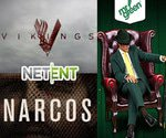 NetEnt Casinos to develop Vikings and Narcos TV slots