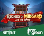 NetEnt Riches of Midgard Land and Expand Slot at Mr Green Casino