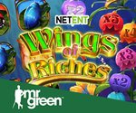 New Wings of Riches Slot from NetEnt