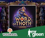 Yggdrasil Gaming's Word of Thoth Slot